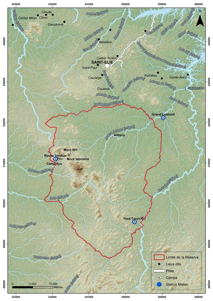 Vue générale de la réserve © ONF