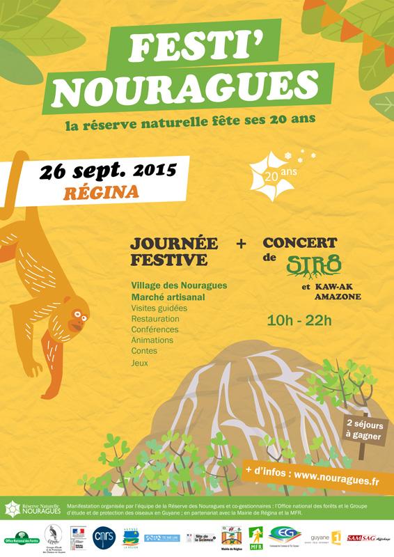 Affiche Festi'Nouragues